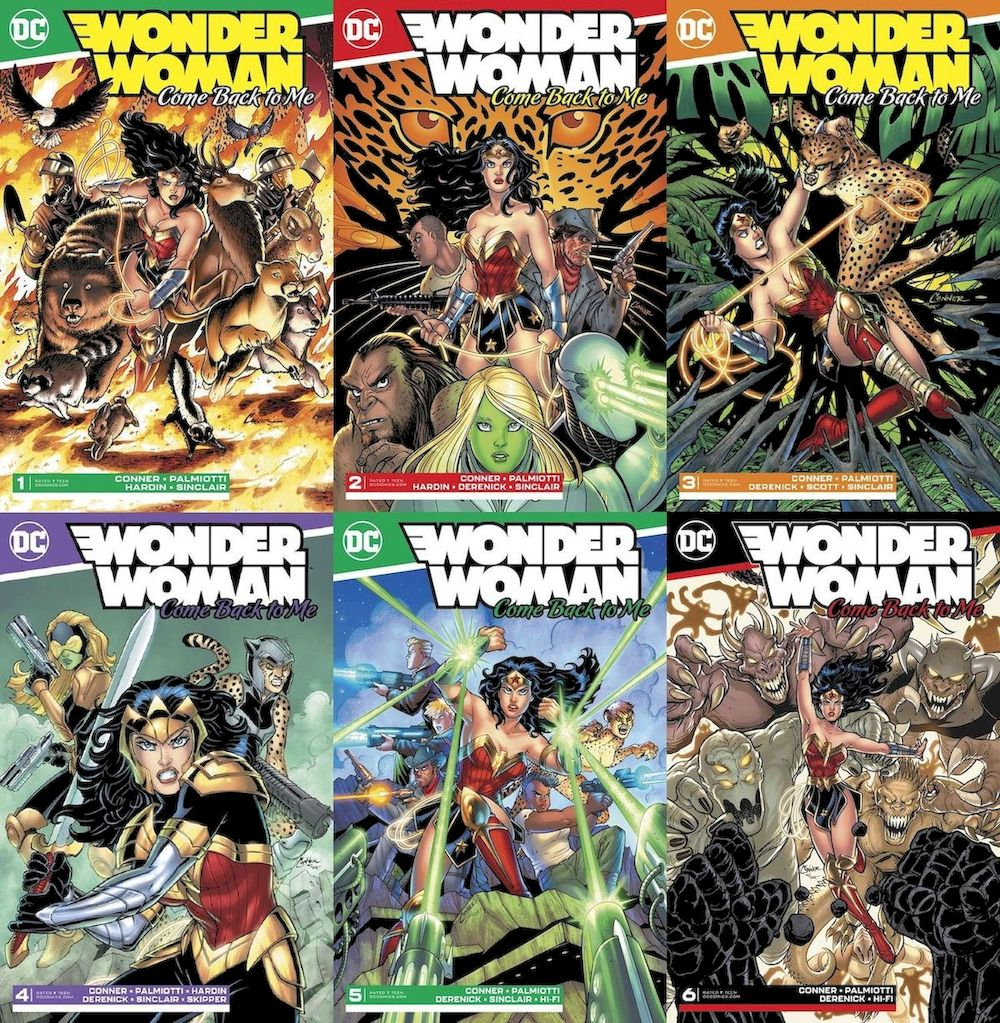 WONDER WOMAN COME BACK TO ME #1 - #6 (OF 6) SET