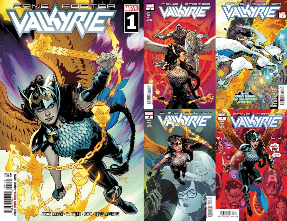 VALKYRIE JANE FOSTER #1 - #5 SET