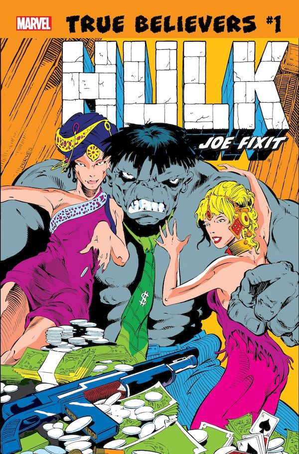 TRUE BELIEVERS HULK JOE FIXIT #1 + 1 Adet Yerli Karton ve Poşet
