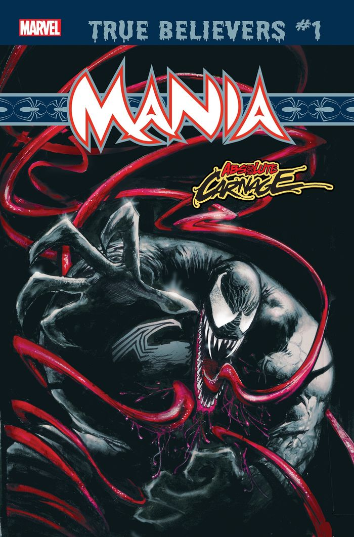 TRUE BELIEVERS ABSOLUTE CARNAGE MANIA #1 + 1 Adet Yerli Karton ve Poşet
