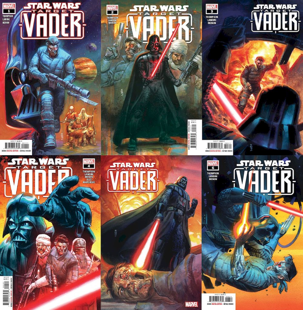 STAR WARS TARGET VADER #1 - #6 (OF 6) SET