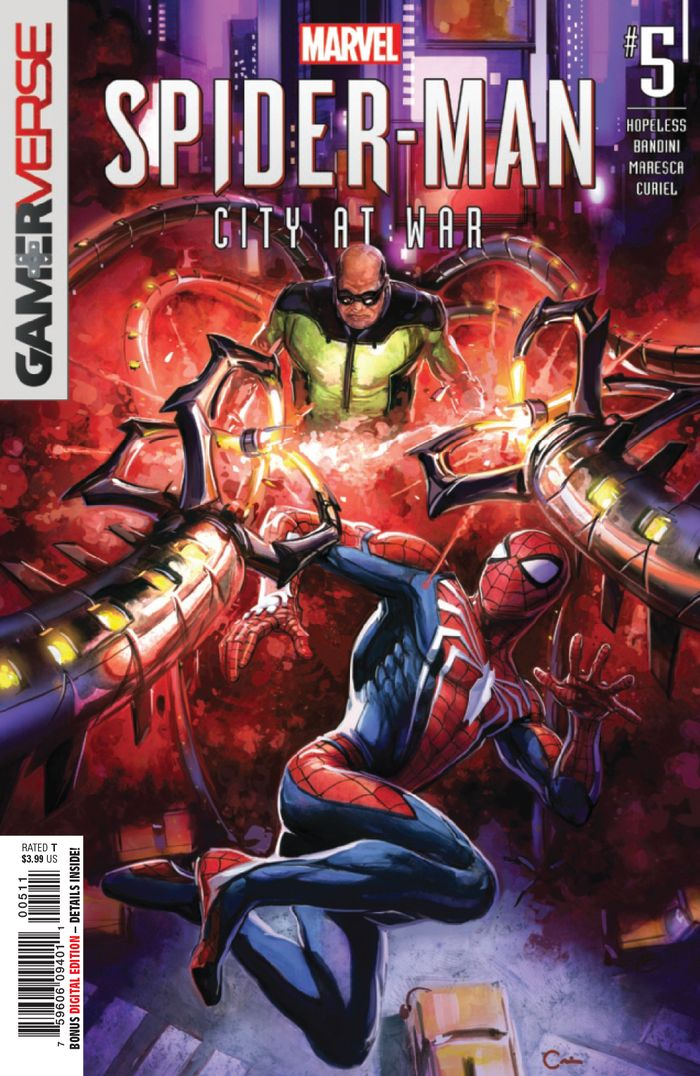 SPIDER-MAN CITY AT WAR #5 (OF 6)