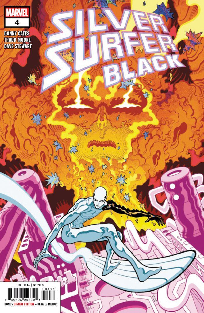 SILVER SURFER BLACK #4 (OF 5)