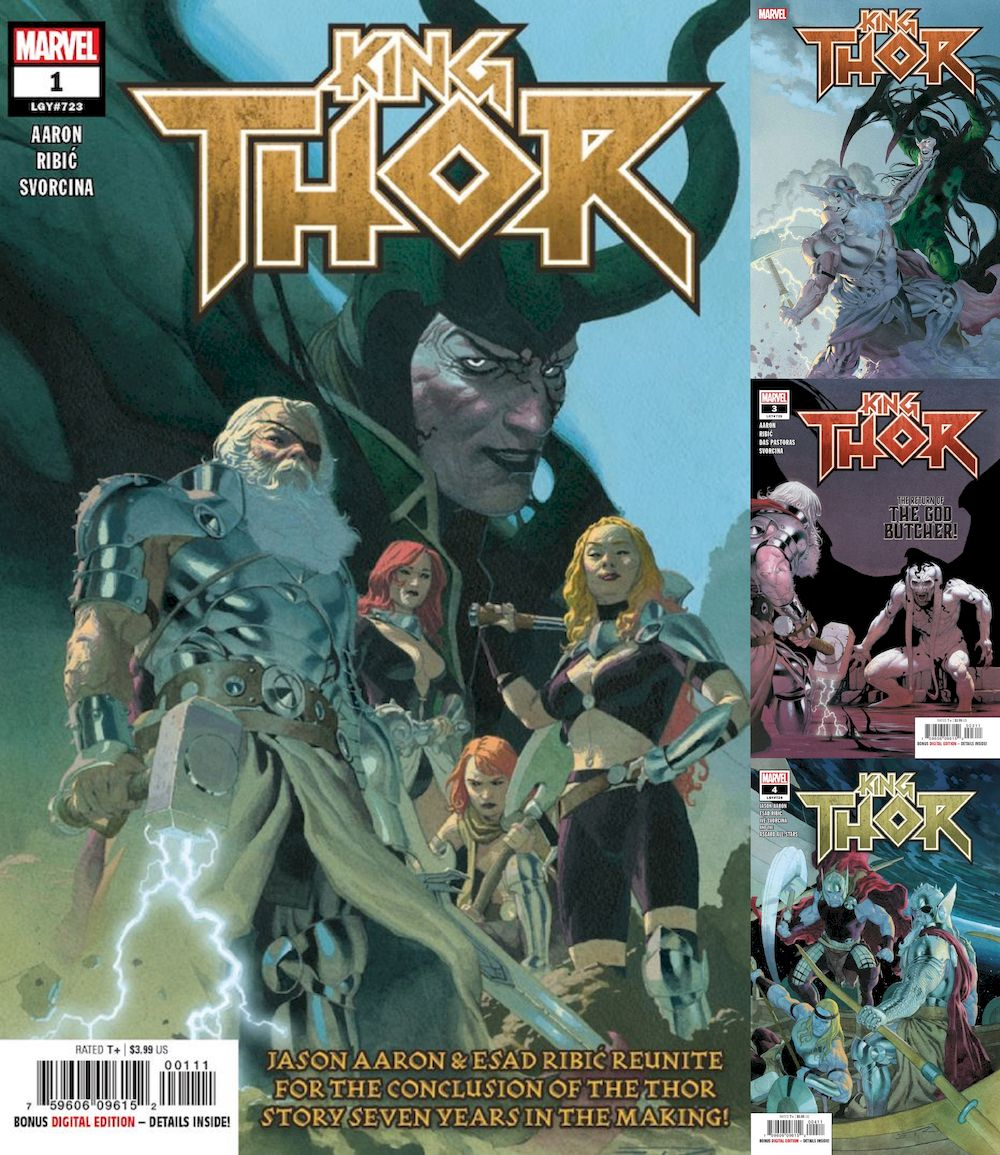 KING THOR #1 - #4 (OF 4) SET