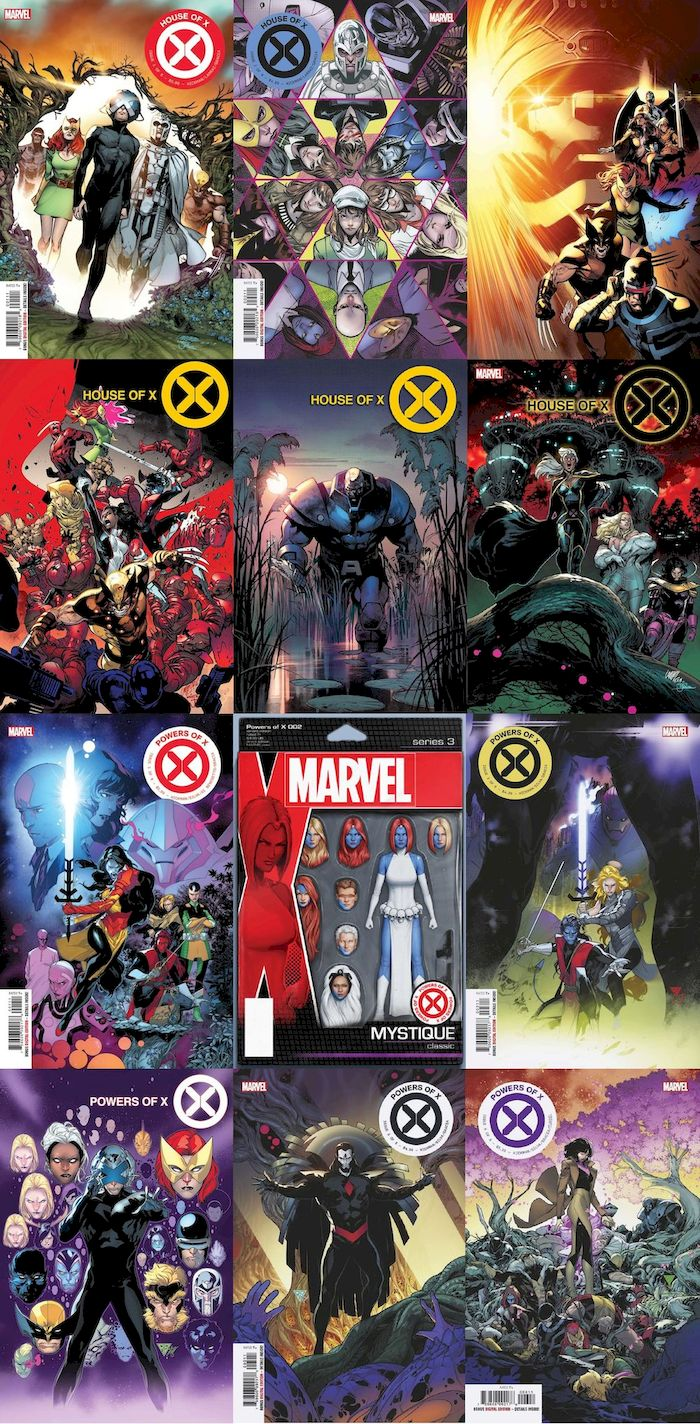 HOUSE OF X #1 - 6 (OF 6) - POWERS OF X #1 - #6 (OF 6) SET