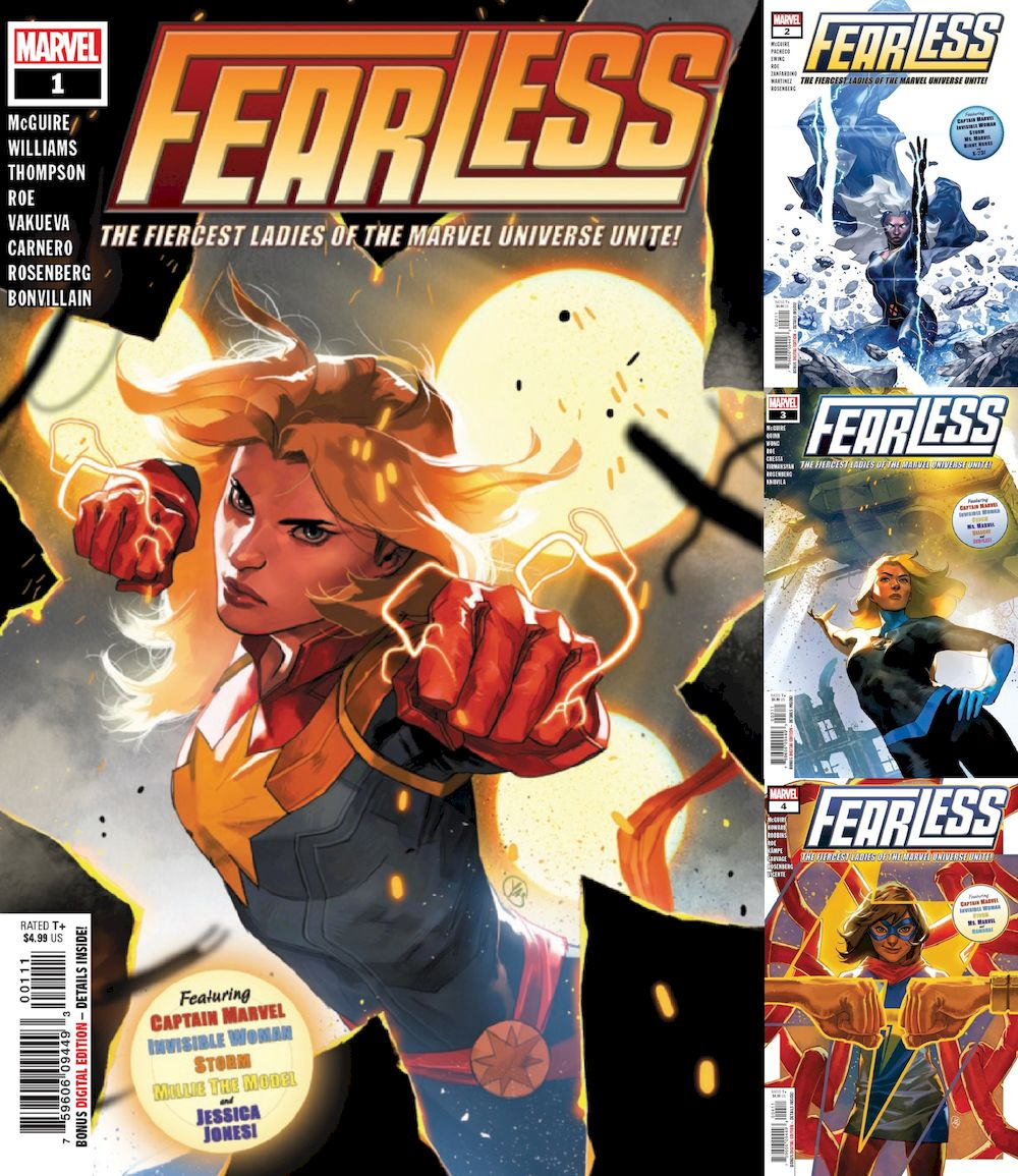 FEARLESS #1 - #4 (OF 4) SET