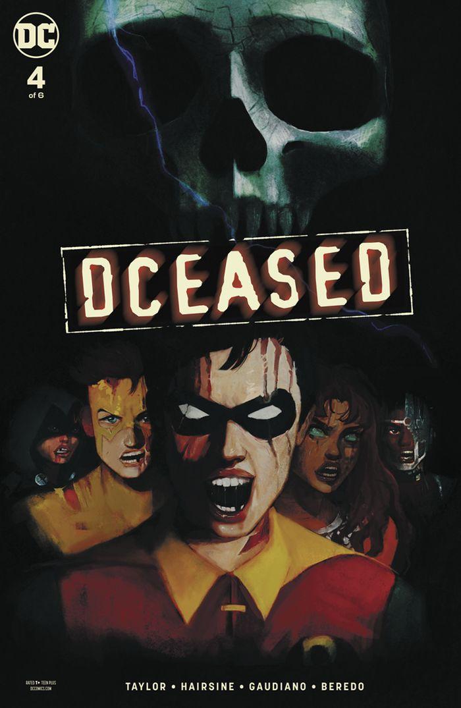 DCEASED #4 (OF 6) HORROR VARIANT