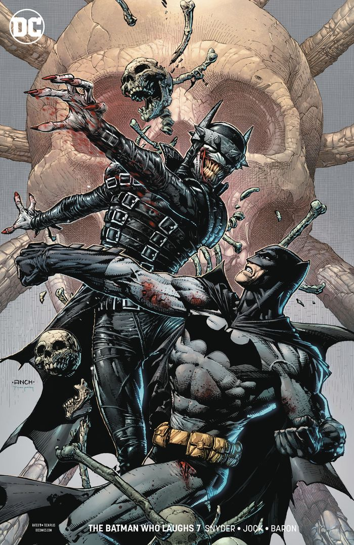 BATMAN WHO LAUGHS #7 (OF 7) VARIANT