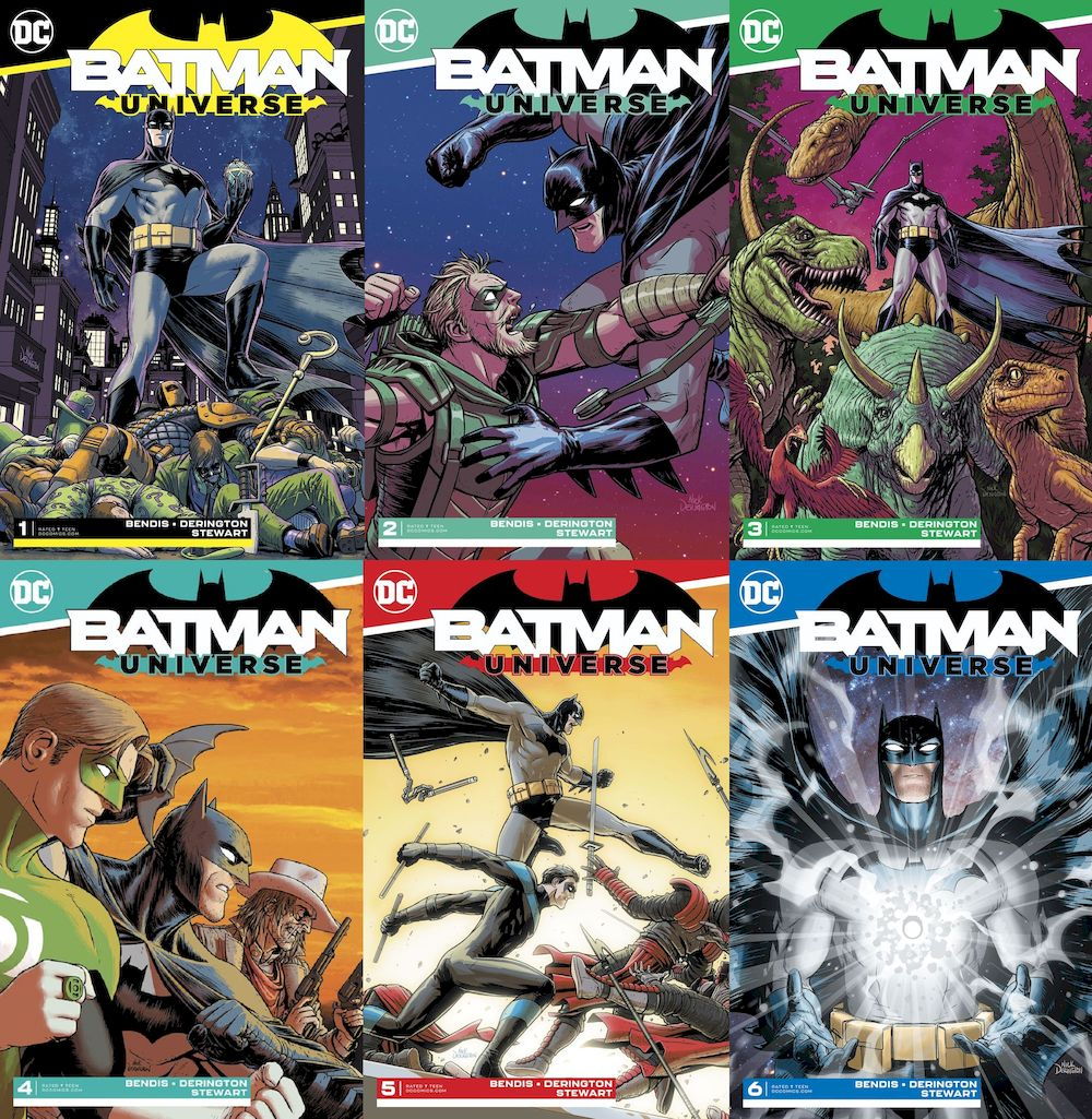BATMAN UNIVERSE #1 - #6 (OF 6) SET
