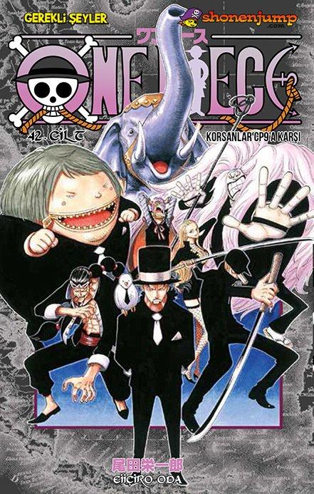 One Piece Cilt 42: Korsanlar CP9'a Karşı