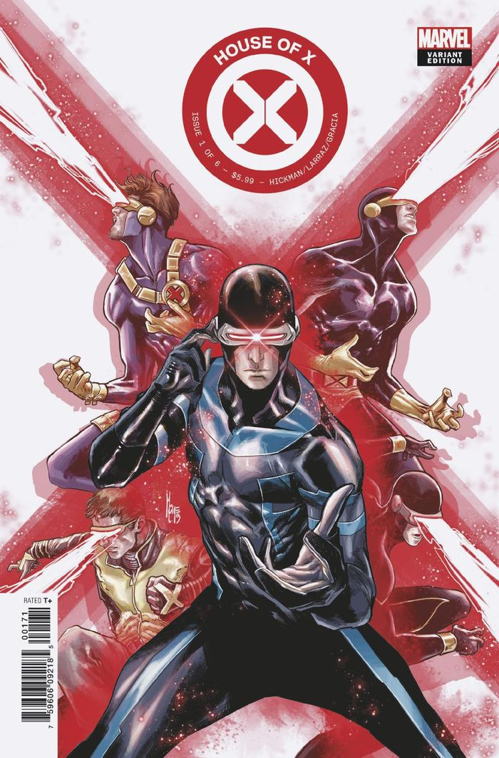 HOUSE OF X #1 (OF 6) CHARACTER DECADES VARIANT