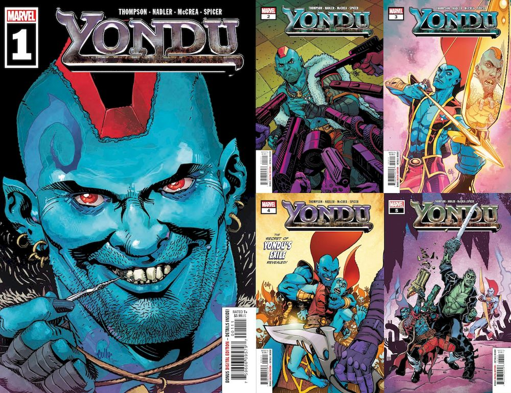 YONDU #1 - 5 (OF 5) SET