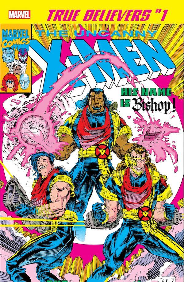 TRUE BELIEVERS X-MEN BISHOP #1 + 1 Adet Yerli Karton ve Poşet