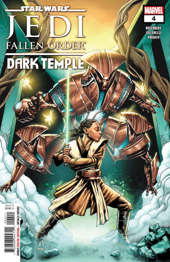 STAR WARS JEDI FALLEN ORDER DARK TEMPLE #4 (OF 5)