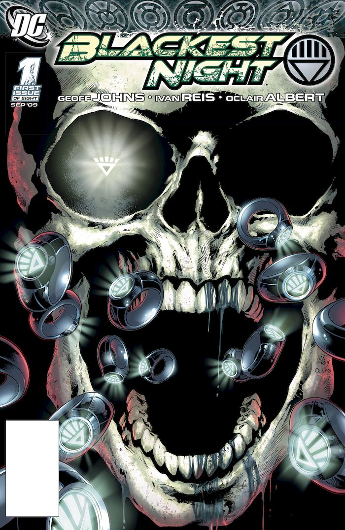 DOLLAR COMICS BLACKEST NIGHT #1 + 1 Adet Yerli Karton ve Poşet