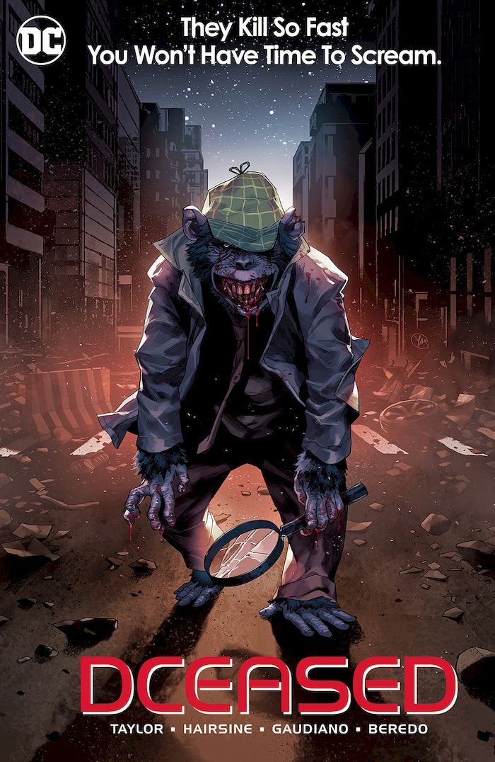DCEASED #6 (OF 6) HORROR VARIANT
