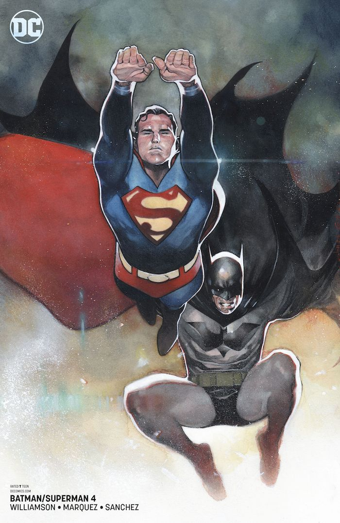 BATMAN SUPERMAN #4 VARIANT