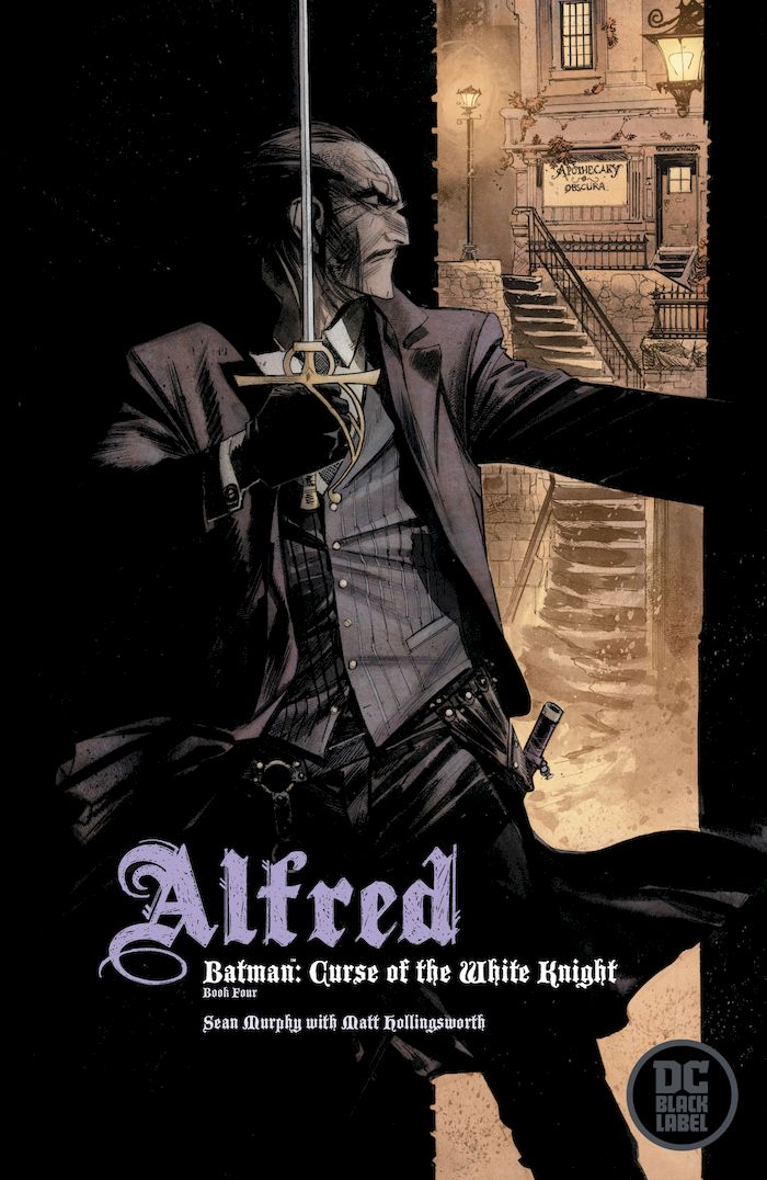BATMAN CURSE OF THE WHITE KNIGHT #4 (OF 8) VARIANT