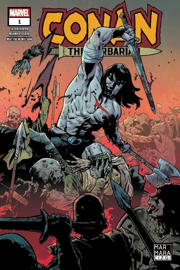 Conan The Barbarian Sayı 1 (Presstij Dükkan Varyantı)