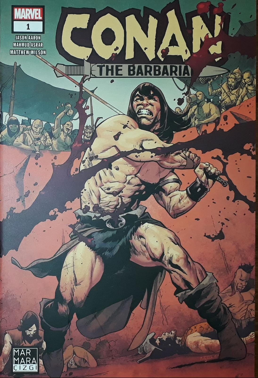 Conan the Barbarian Sayı 1 (Ana Kapak)