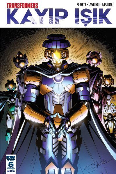 Transformers - Kayıp Işık 5: Kapak A