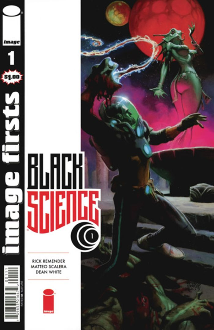 IMAGE FIRSTS BLACK SCIENCE #1 + 1 Adet Yerli Karton ve Poşet
