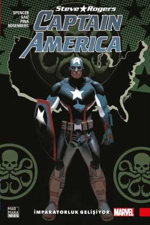 Steve Rogers Captain America Cilt 3 - İmparatorluk Gelişiyor