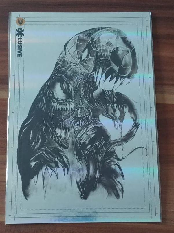 Görkem Demir Exclusive JUMBO SIZE Holo Sketch Card - Venom