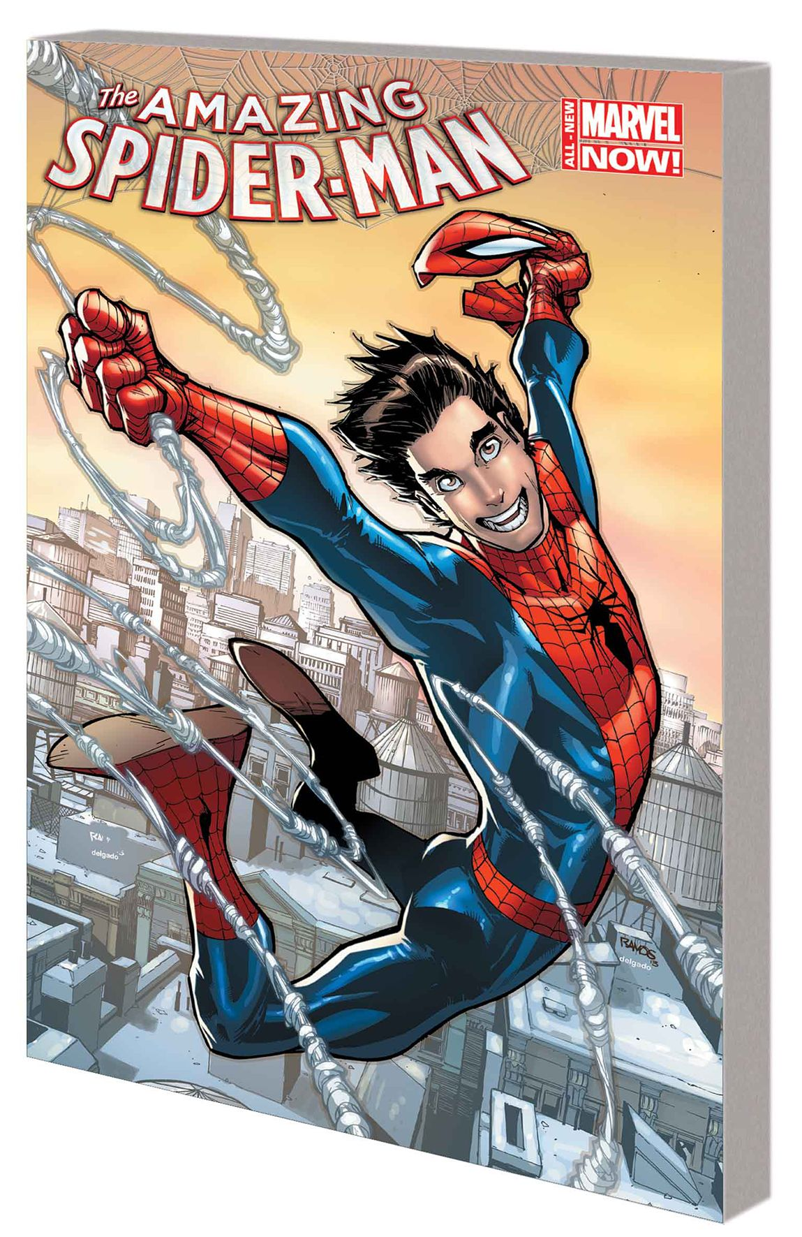 AMAZING SPIDER MAN TP VOL 01 PARKER LUCK