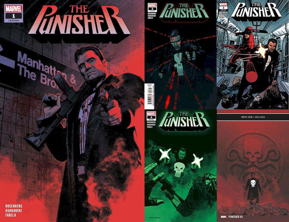 PUNISHER #1 - #5 SET