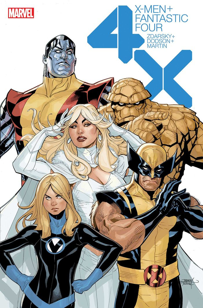 X-MEN FANTASTIC FOUR #2 (OF 4)