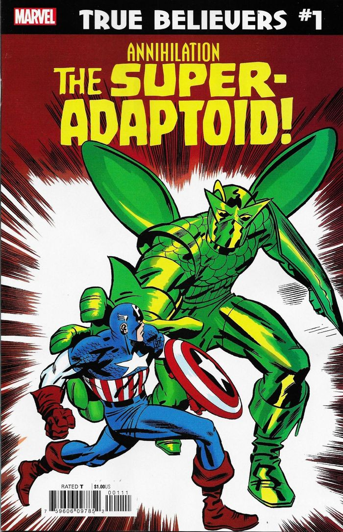 TRUE BELIEVERS ANNIHILATION SUPER-ADAPTOID #1 + 1 Adet Yerli Karton ve Poşet