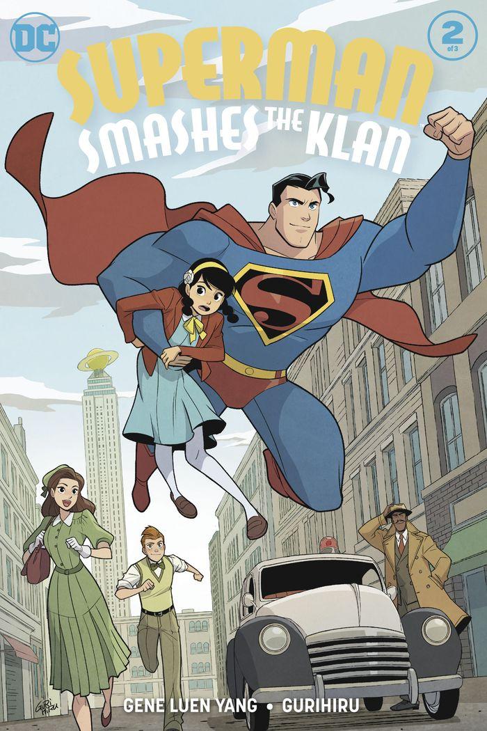 SUPERMAN SMASHES THE KLAN #2 (OF 3)