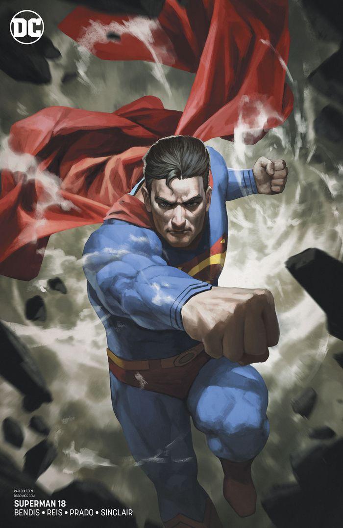 SUPERMAN #18 VARIANT
