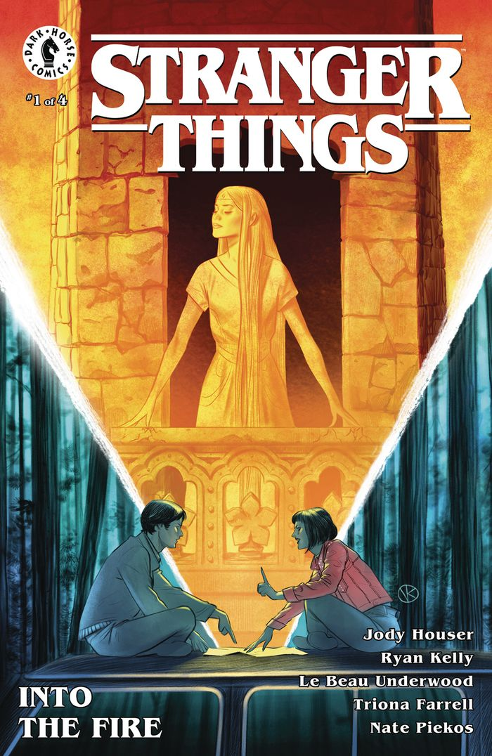 STRANGER THINGS INTO THE FIRE #1 (OF 4) COVER A KALACHEV