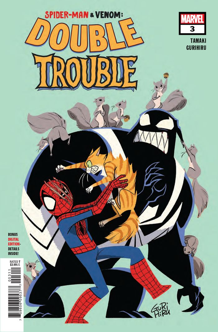 SPIDER MAN & VENOM DOUBLE TROUBLE #3 (OF 4)