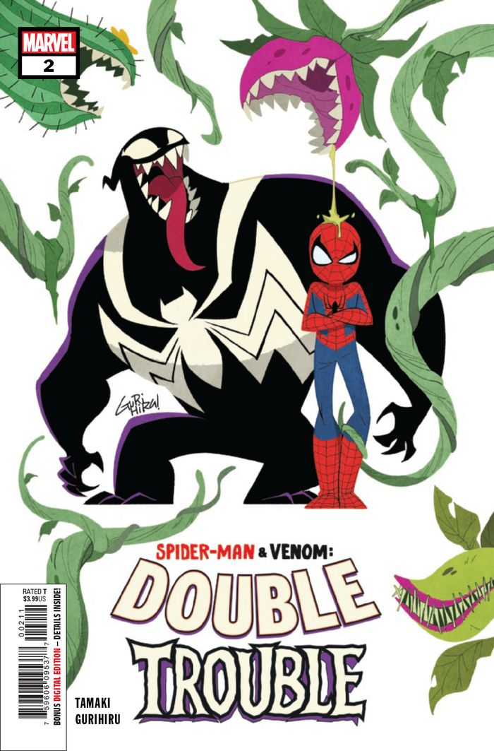 SPIDER MAN & VENOM DOUBLE TROUBLE #2 (OF 4)