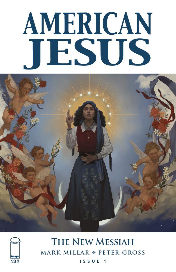 AMERICAN JESUS NEW MESSIAH #1 COVER A MUIR