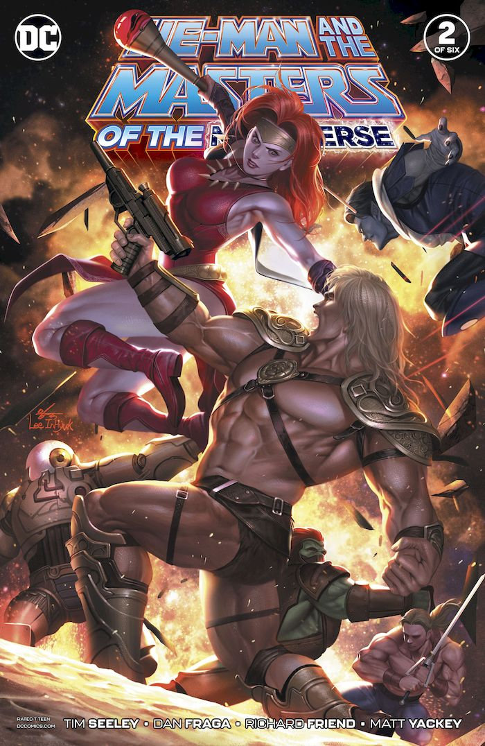 HE MAN AND THE MASTERS OF THE MULTIVERSE #2 (OF 6)