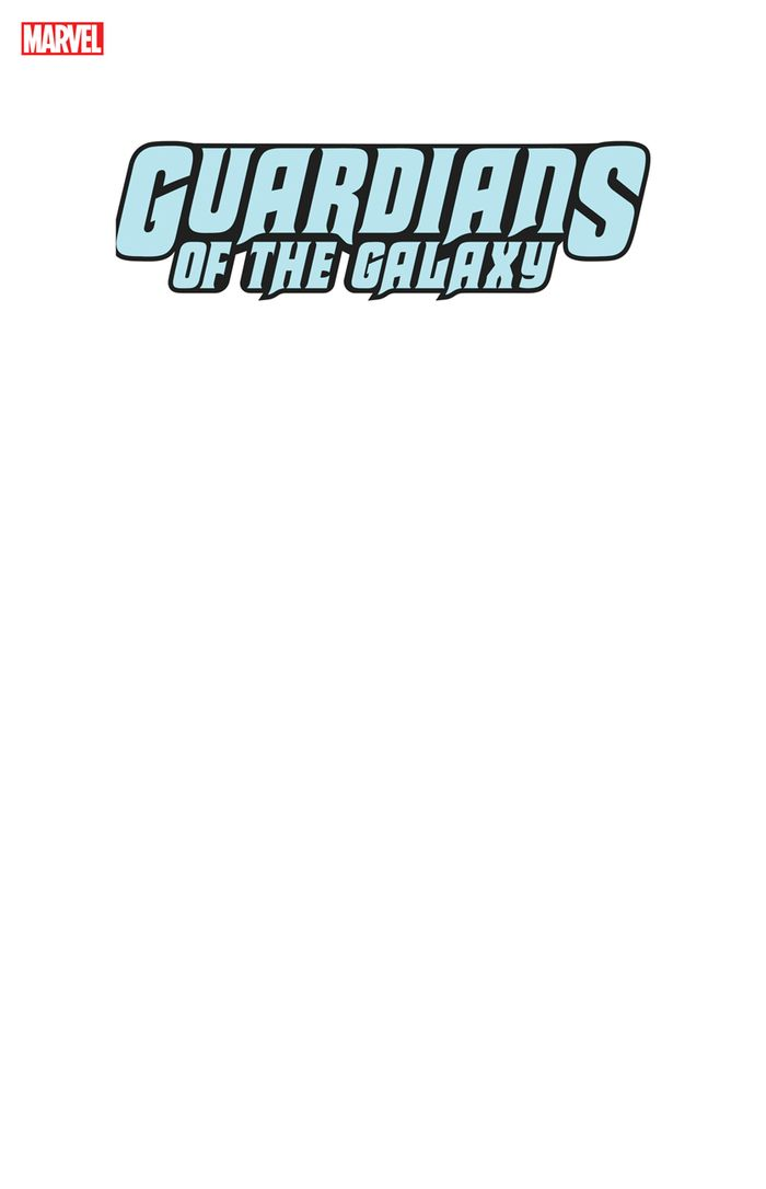 GUARDIANS OF THE GALAXY #1 BLANK VARIANT