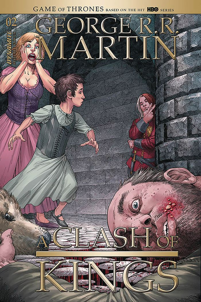 GEORGE RR MARTIN A CLASH OF KINGS #2 COVER A MILLER