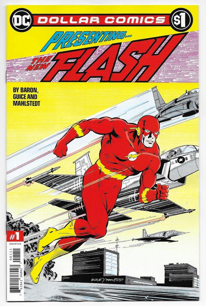 DOLLAR COMICS FLASH 1987 #1 + 1 Adet Yerli Karton ve Poşet