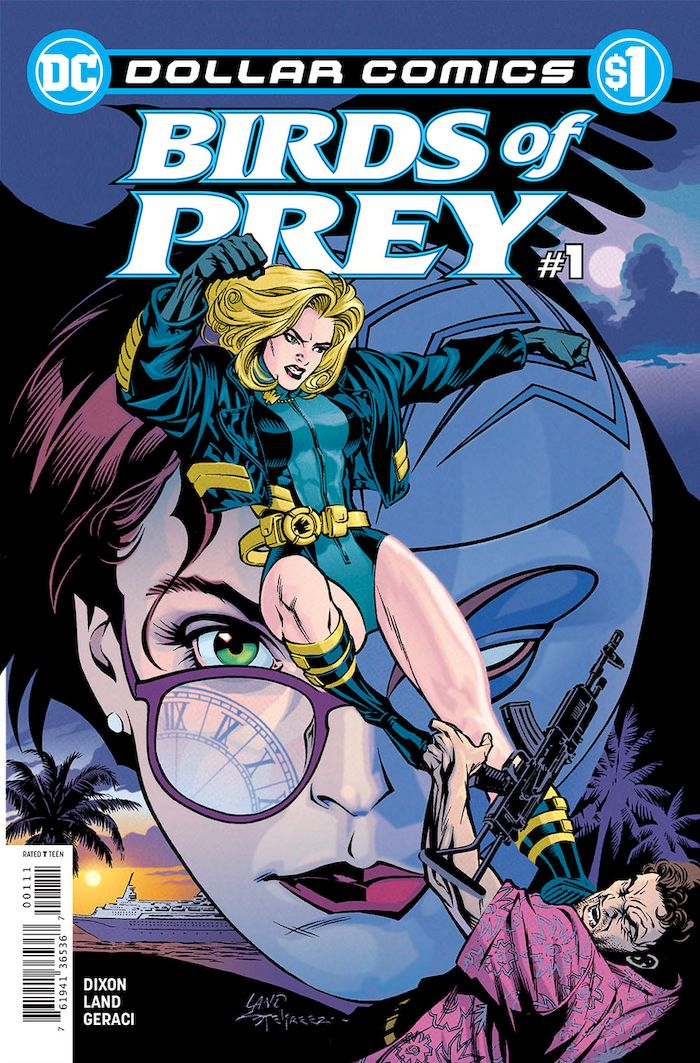 DOLLAR COMICS BIRDS OF PREY #1 + 1 Adet Yerli Karton ve Poşet
