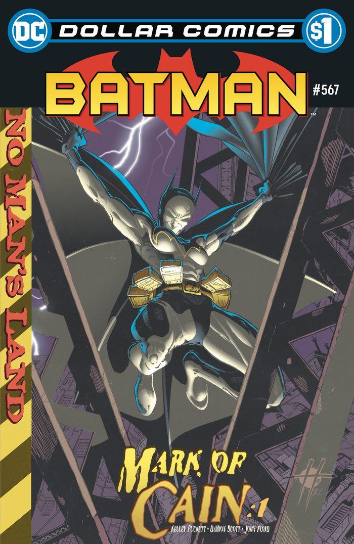 DOLLAR COMICS BATMAN #567 + 1 Adet Yerli Karton ve Poşet