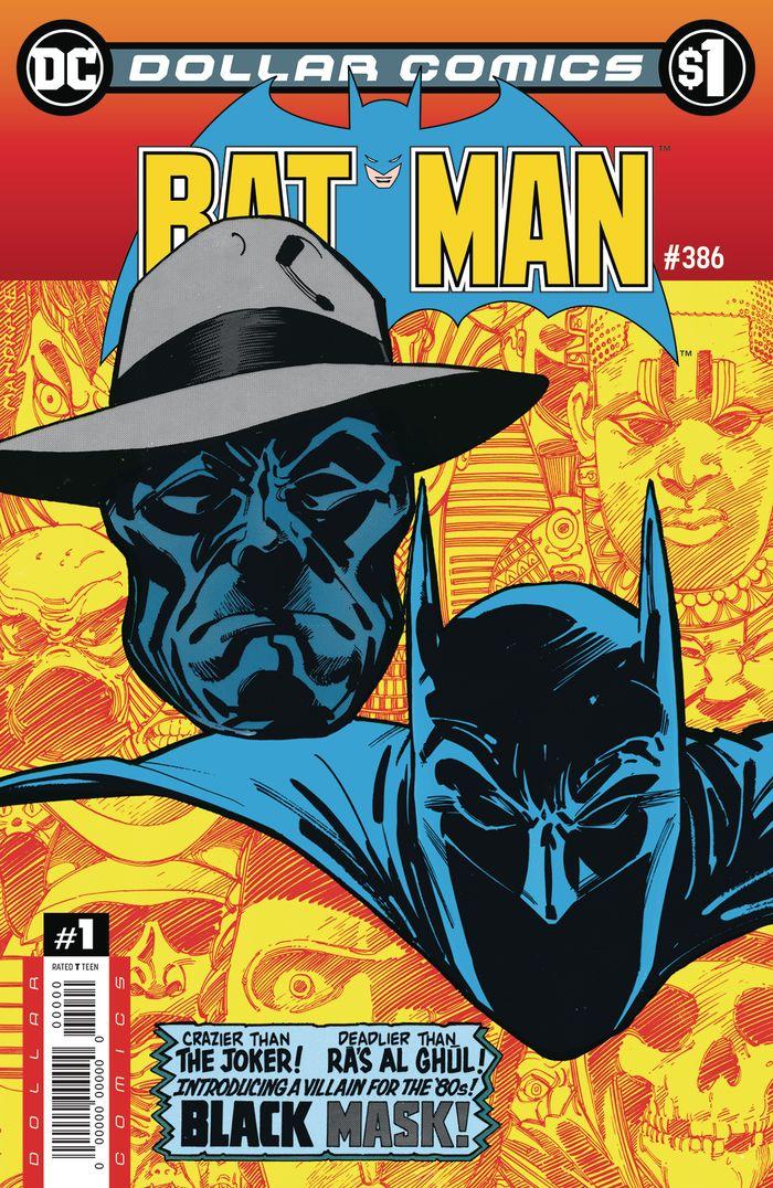 DOLLAR COMICS BATMAN #386 + 1 Adet Yerli Karton ve Poşet