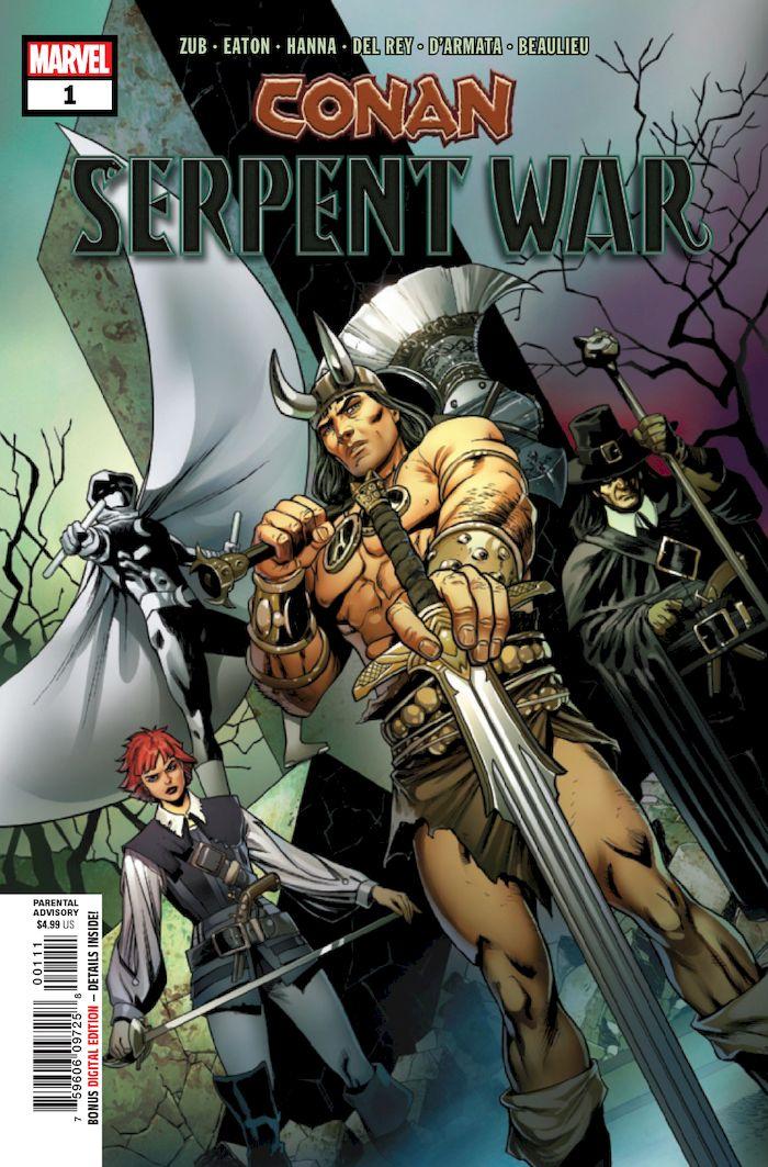 CONAN SERPENT WAR #1 (OF 4)