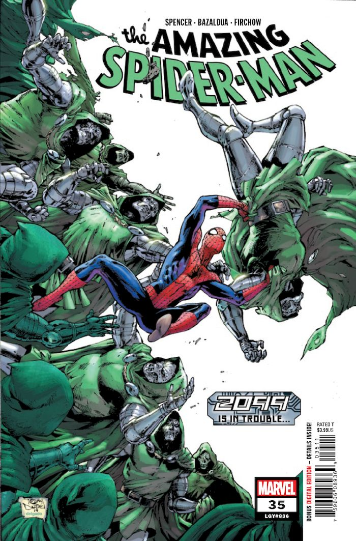 AMAZING SPIDER MAN #35 2099