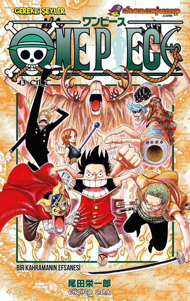 One Piece Cilt 43