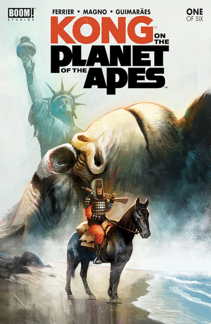 KONG ON THE PLANET OF THE APES #1 SET