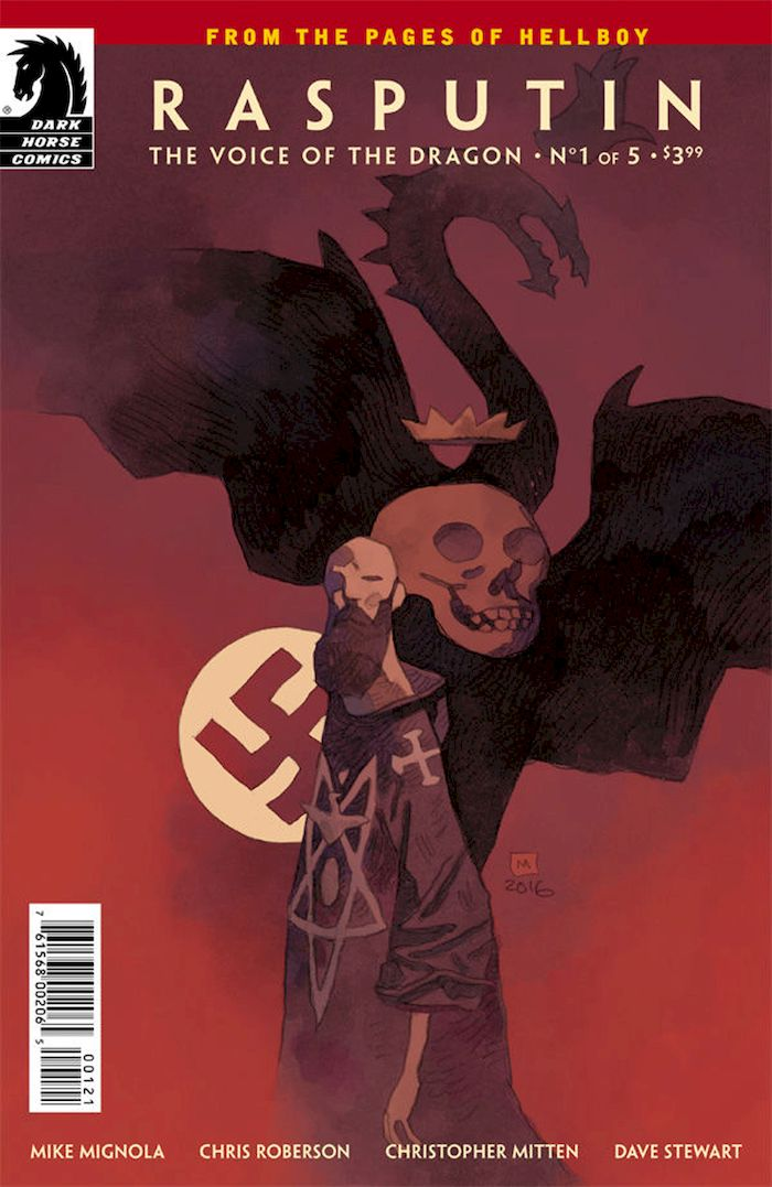 RASPUTIN THE VOICE OF THE DRAGON #1 - #5 (OF 5) VARIANT SET